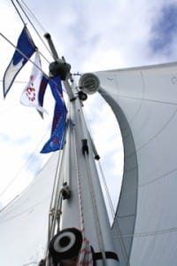 asa burgee flying high