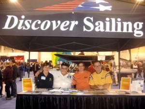 discover sailing booth
