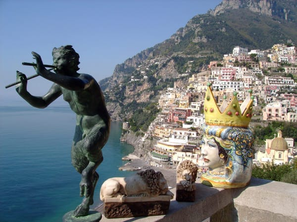 satyr and positano