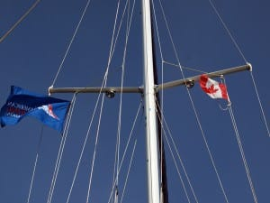 canada and asa flags