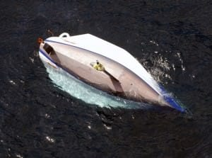 Wingnuts capsized