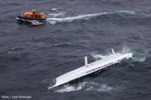 rambler capsized
