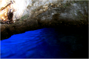blue cave by tom stout