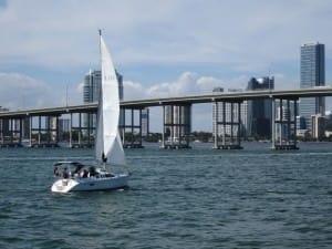 sailing biscayne bay