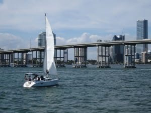 sailing biscayne bay