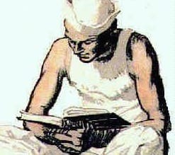 sailor reading