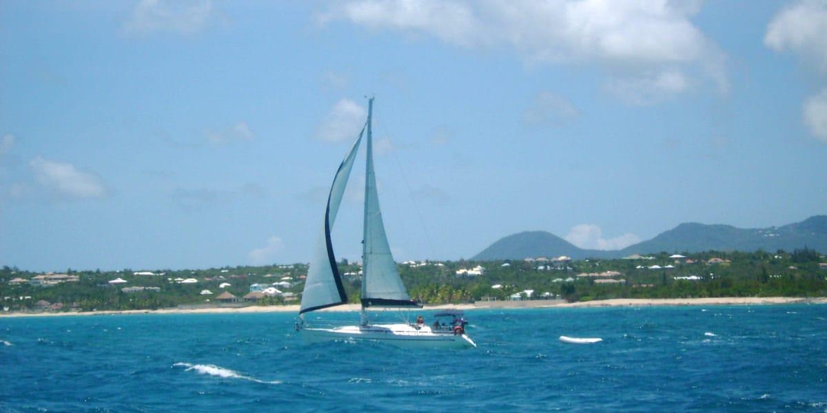 Sailboat Anguilla