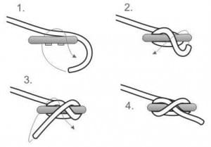 how to tie a cleat hitch