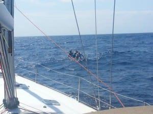 men in raft