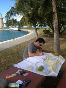 studying with coconut
