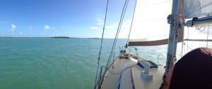 Sailing in Manatee Pocket, Florida