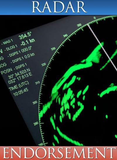 ASA 120, Radar Endorsement