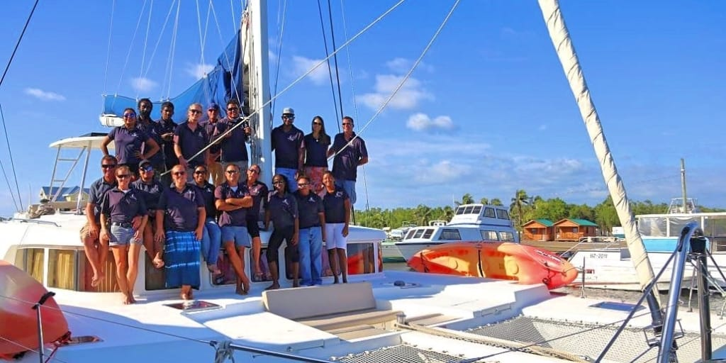 Belize Sailing Vacations American Sailing Association