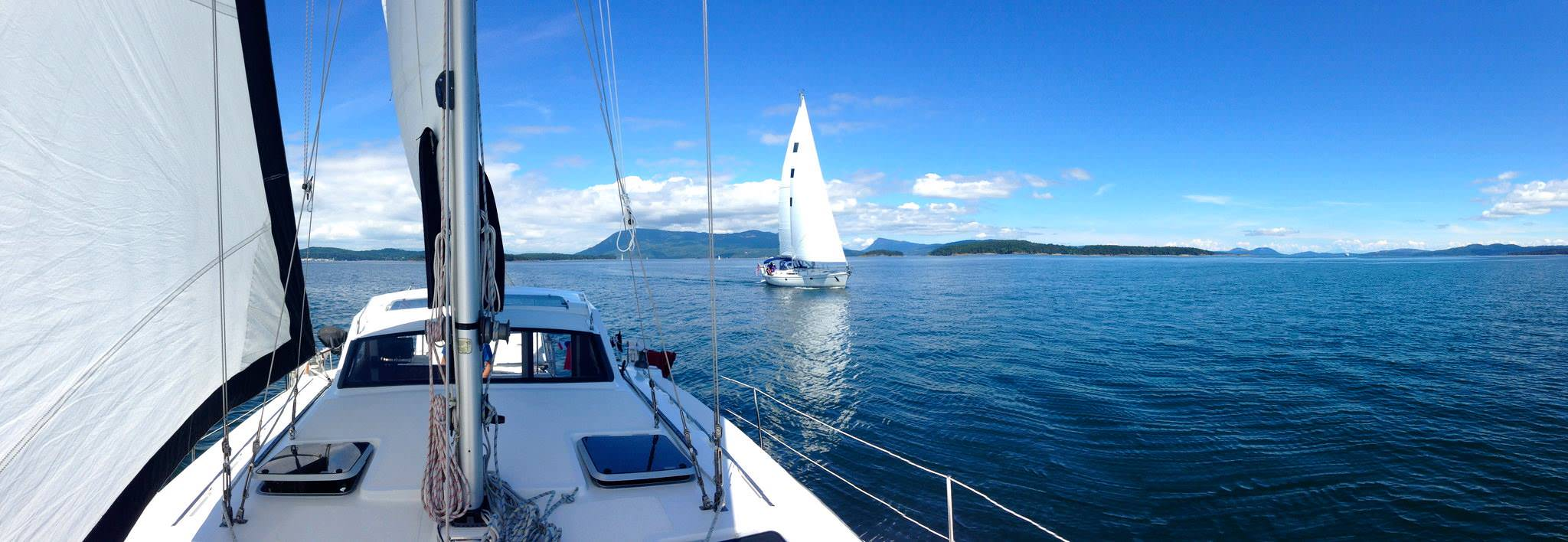 ASA flotilla in the San Juan Islands