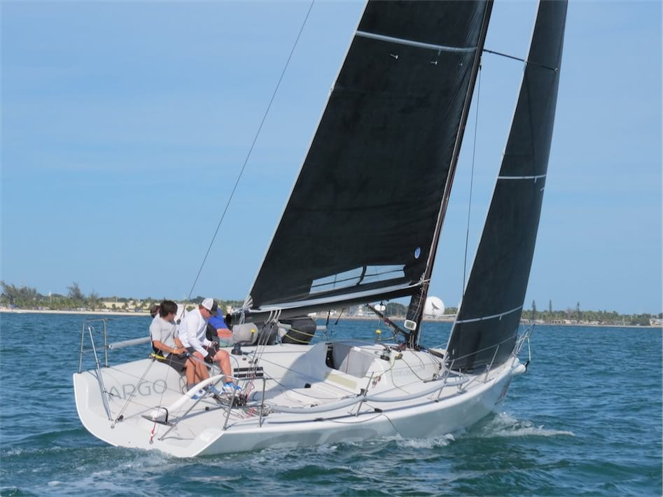 "Graham Landy Sailing on ""Argo"" at the Melges 32 Worlds"