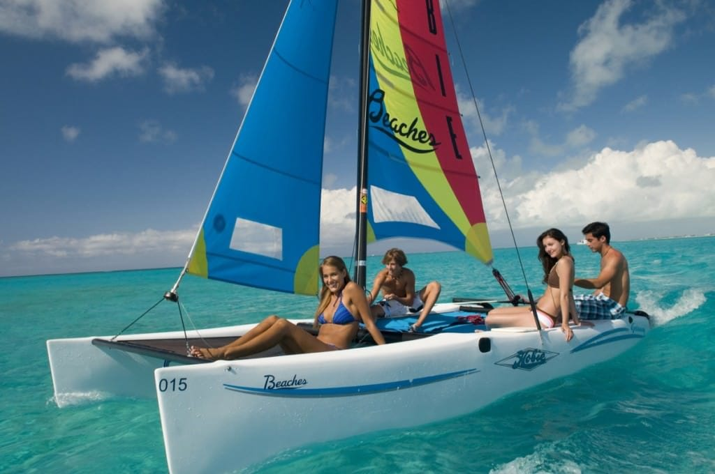 "BEACHES RESORTS NEW ""SAILING FUN"" EXPERIENCE"