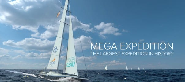 Ocean Cleanup Mega Expedition