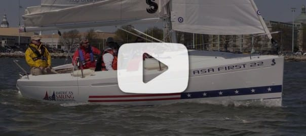 ASA First 22 Sailing Video