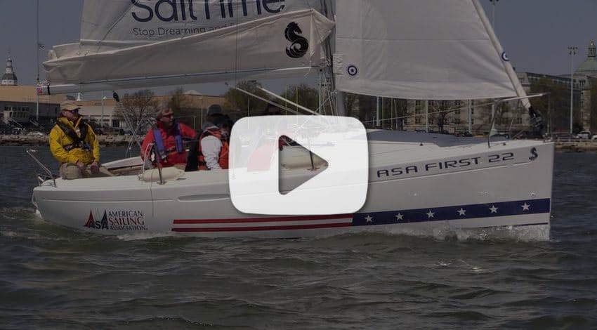 ASA First 22 Sailing Video