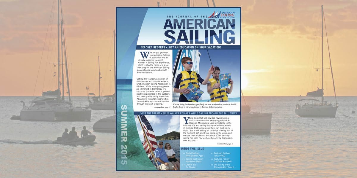 American Sailing Journal ASJ Summer 2015