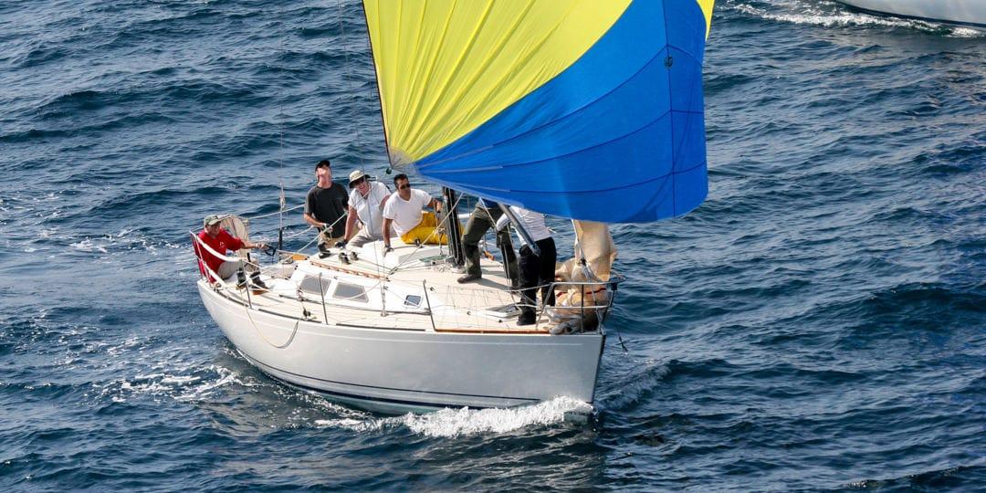 Racing Sailboats by Pat Reynolds