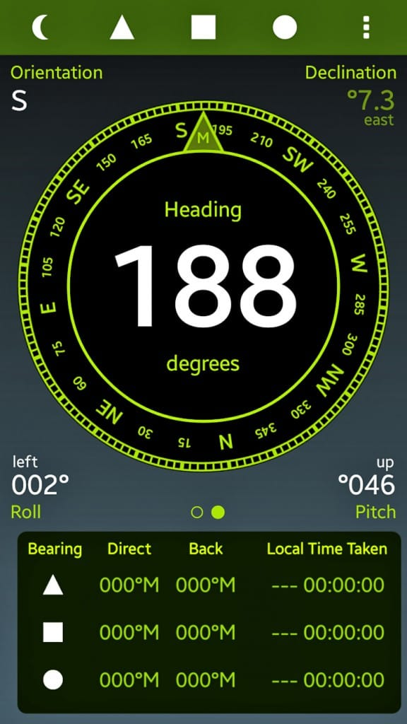 Field Compass + Andriod App