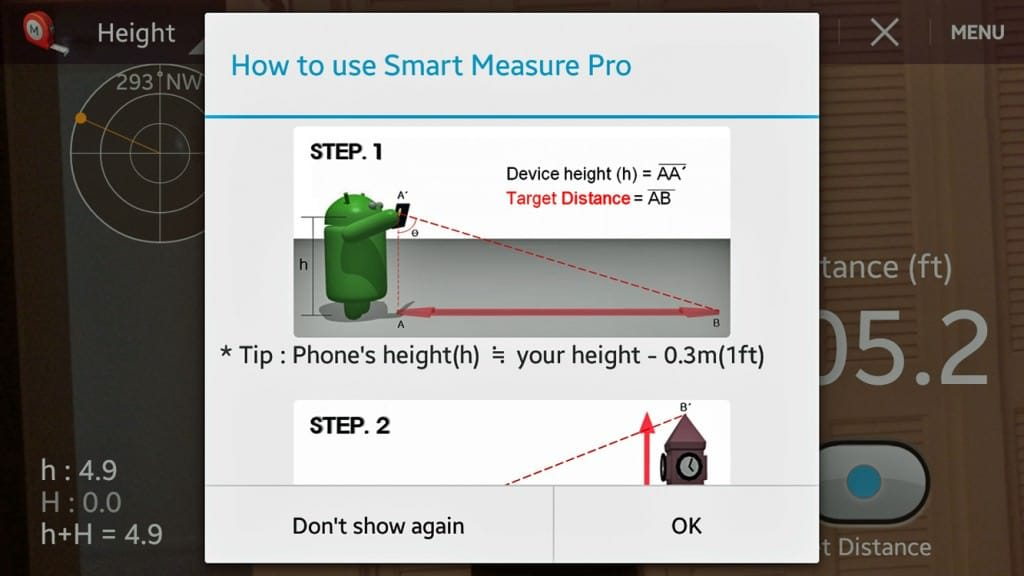 Smart Measure Andriod App