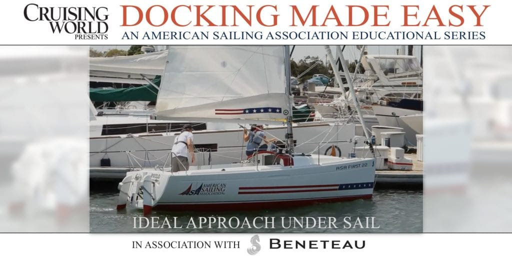 Docking Made Easy, Docking Under Sail - An Ideal Approach