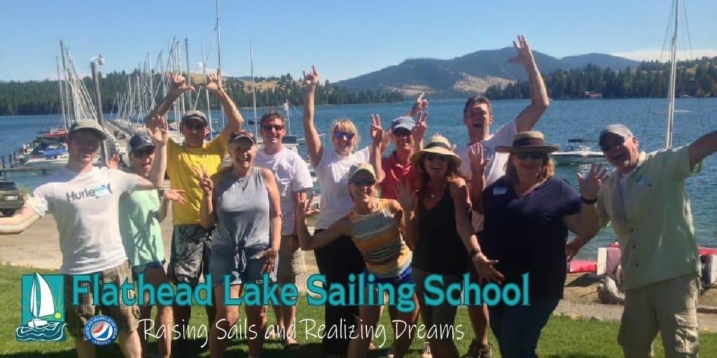 SAVE - Flathead Lake Sailing, MT ~ ASA Certified Sailing School