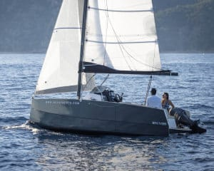 NUVA MS 6, Unusual Sailboat Designs