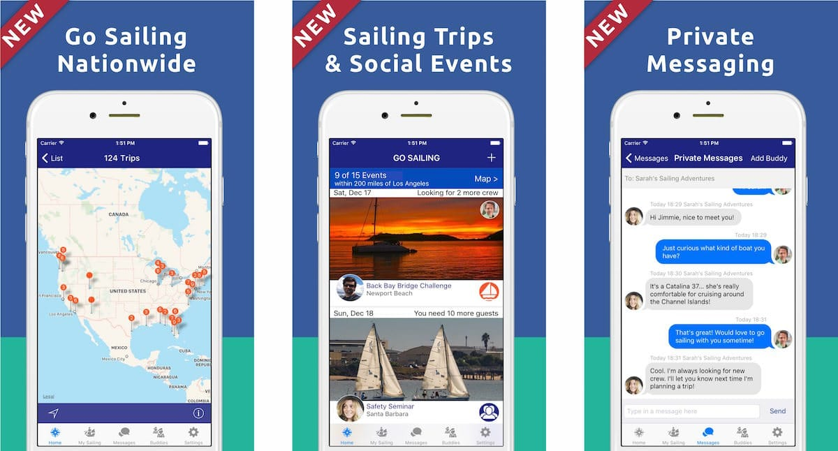 Go Sailing V3 New Features