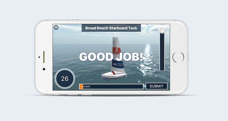 Sailing Challenge v1.1 Trim Test iPhone