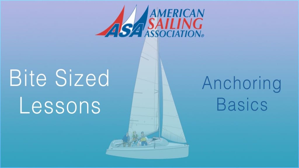 ASA's Bite Sized Lessons : Anchoring Basics