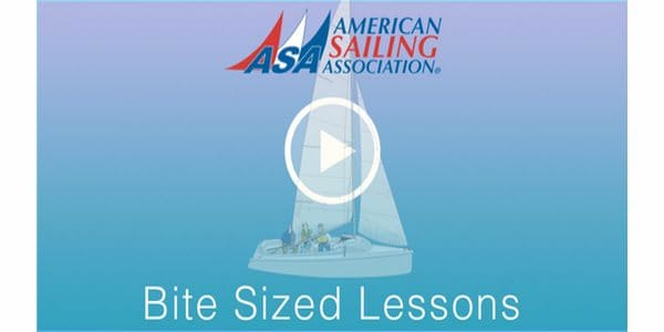 Bite Sized Lessons - Sailing Educational Videos