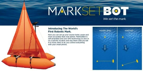 Sailing Gizmo - MarkSetBot