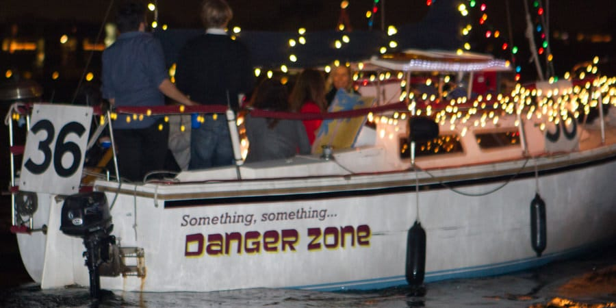Boat Name - Something Something Danger Zone