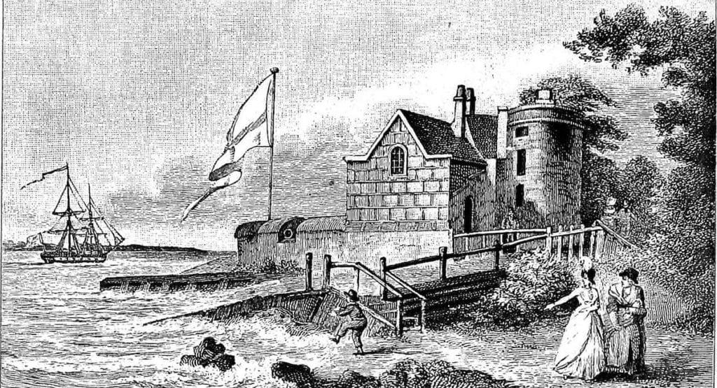 Cowes Castle. 1801.