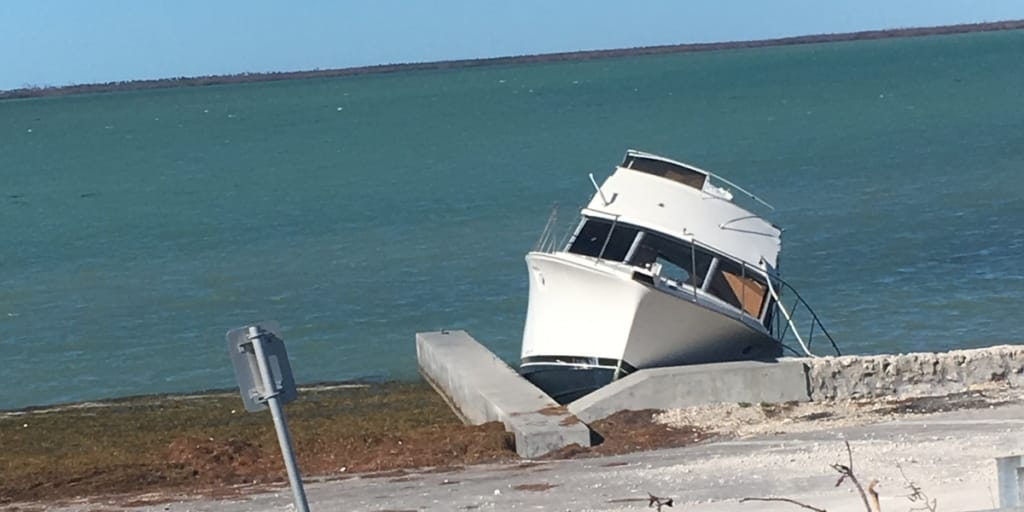 Key West Hurricane Damage
