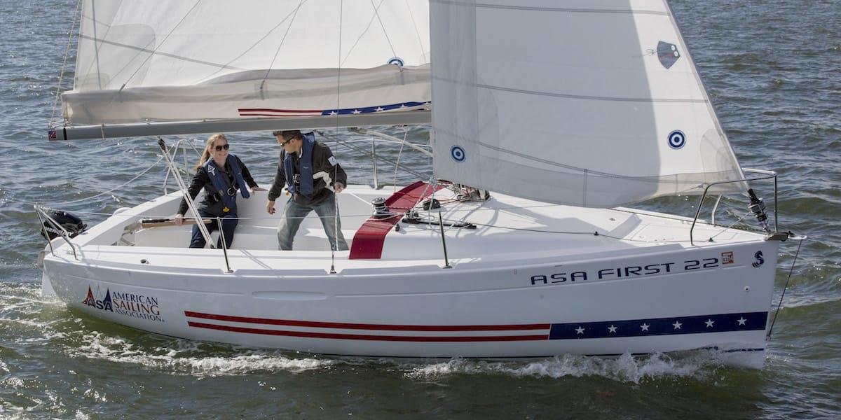 ASA 101 Basic Keelboat Sailing - What You'll Learn - American Sailing Association