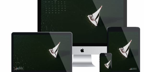 ASA Desktop Wallpaper Sailing Calendar - May 2018