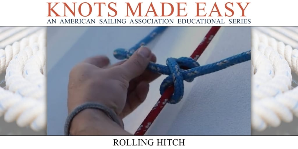 Knots Made Easy - Rolling Hitch