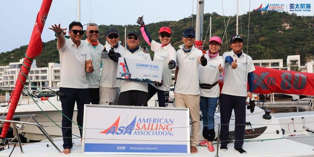 Asia Pacific Sailing Club, China ~ An ASA Certified Sailing School