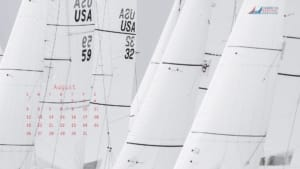 ASA Desktop Wallpaper Sailing Calendar - August 2018
