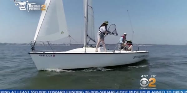 Plastic Pollution Purge: CBS 2 with Kate Smith from SOUL Sailing in Bronx, New York