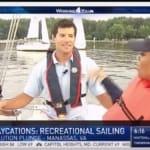 Plastic Pollution Purge: NBC 4 with Cameron Sarik from Northern Virginia Sailing School in Woodbridge, Virginia