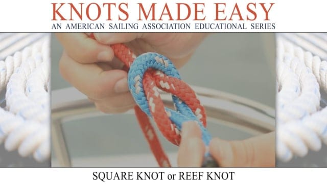 Knots Made Easy - Square Knot