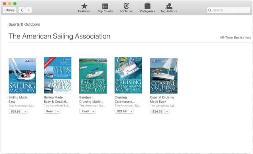 Gift ASA Textbook Via Apple Books on a Mac