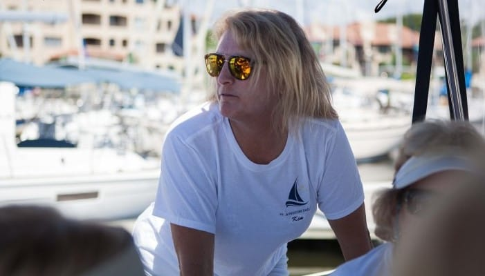 Kim Walther of St. Augustine Sailing