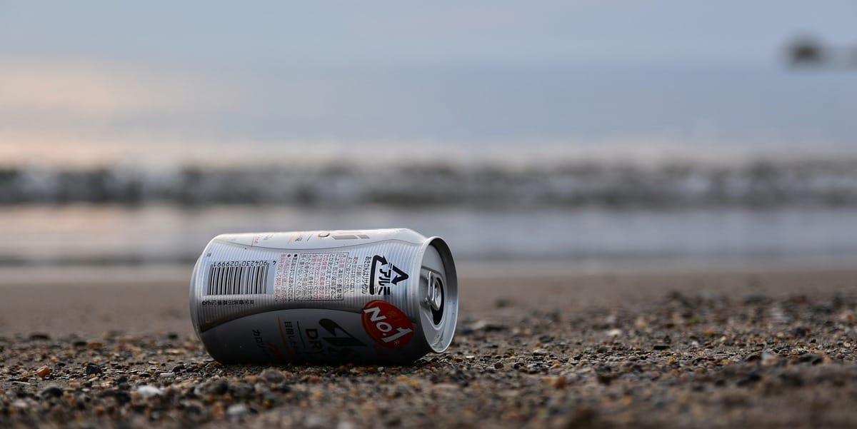 ocean plastic can