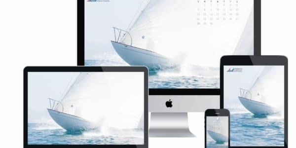 ASA Desktop Wallpaper Sailing Calendar - April 2019